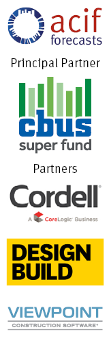ACIF Forecasts are thanks to our Partners, lead by Cbus Super