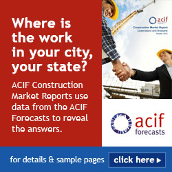 Construction Market Reports provide the ACIF Forecasts for your state