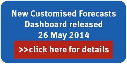 New Customised Forecasts Dashboard released 26 May 2014